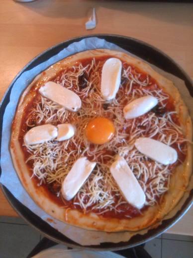 Pizza rovinata