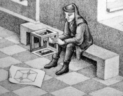 Escher-Cubo-impossibile